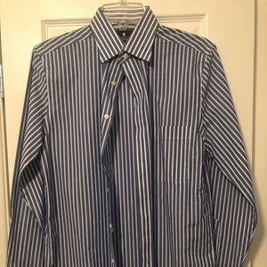 Stafford Easy Care Travel Slim Fit dress shirt